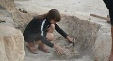 Burials and artifacts dating back 4 thousand years were found in Nizhnyaya Duvanka