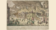 New York city on fire: the devastating fire of 1776