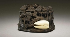 Vintage netsuke from the collection of the Augustus Franks