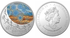Australia issued a coin dedicated to the Pleiades