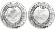 Roller coaster: Сook Islands dedicated a new coin to the attraction