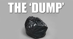 A sculpture resembling a garbage bag will be sold at auction