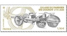 Новую французскую марку приурочили к 250-летию тележки Кюньо