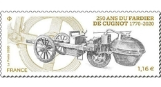 The new French brand was dedicated to the 250th anniversary of the fardier à vapeur
