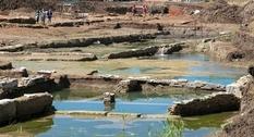 Неподалеку от Рима археологи нашли древний бассейн