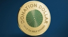 In Australia released a charity dollar