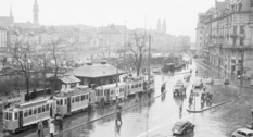 Жизнь Цюриха на фото 1950-х годов