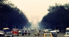 Парижские улицы на фото середины 70-х