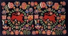 Шведский текстиль в коллекции Нассера Халили