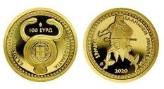 Греция представила новую коллекционную монету, посвященную Гермесу