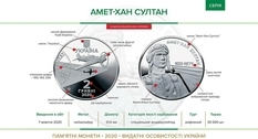 A coin was issued in Ukraine to mark the centenary of the famous pilot's birth