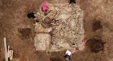 Rich burial site found in Germany (part I)
