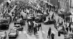 H-day: the day when right-hand traffic was introduced in Sweden