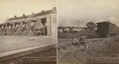 Как выглядела Канзасская тихоокеанская железная дорога в XIX веке