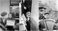 Parisians at the Aligre market through the eyes of Jean Bourgeois