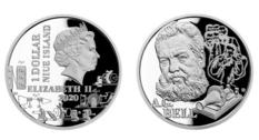 Ниуэ представил монету с портретом Александра Белла