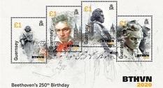 Гернси выпустит четыре марки в честь Бетховена
