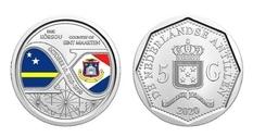 Синт-Мартен и Кюрасао отметили 10-летие получения нового статуса выпуском монеты
