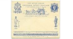 Почта Великобритании: коллекция конвертов викторианской эпохи