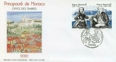 В Монако напечатали две марки в честь Оноре III