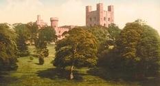 Замки Уэльса на старинных снимках позапрошлого века