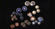 Waddesdon Manor: a collection of vintage buttons