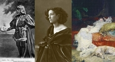 The life and images of Sarah Bernhardt