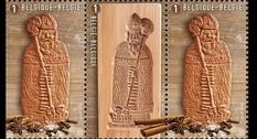 Печенье к Рождеству: в Бельгии напечатаны две новые почтовые марки