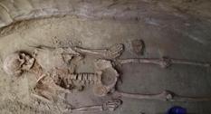 На Хортице обнаружили уникальное захоронение скифа