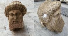 В греческой столице обнаружена голова Гермеса