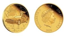 «Назад в будущее»: к 35-летию фильма в Ниуэ выпущена новая монета