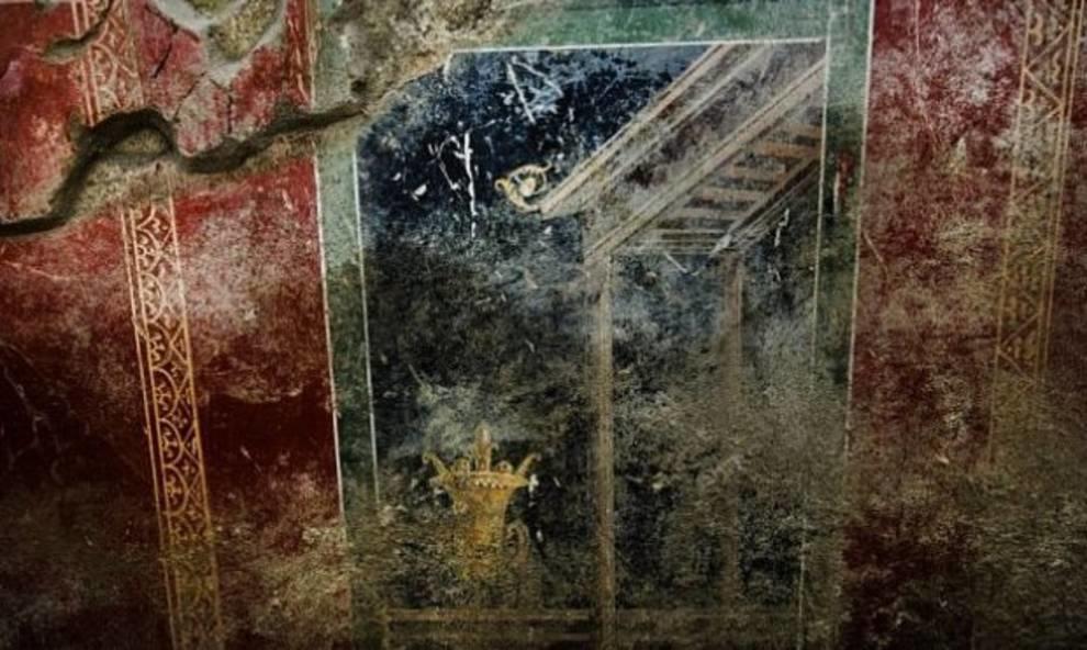 Дом дельфинов: в Помпеях археологи обнаружили новые фрески
