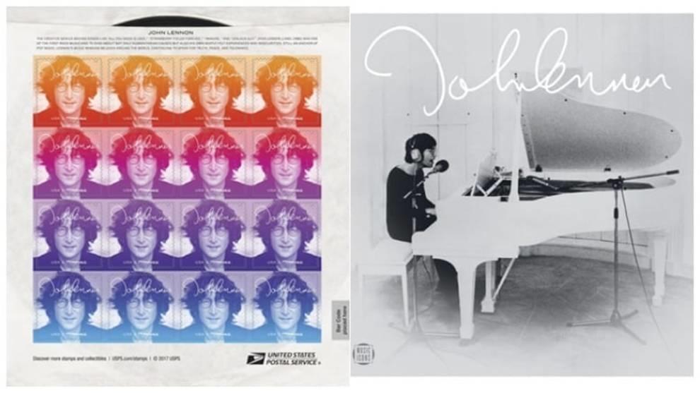 В США выпустили почтовые марки, посвященные Джону Леннону