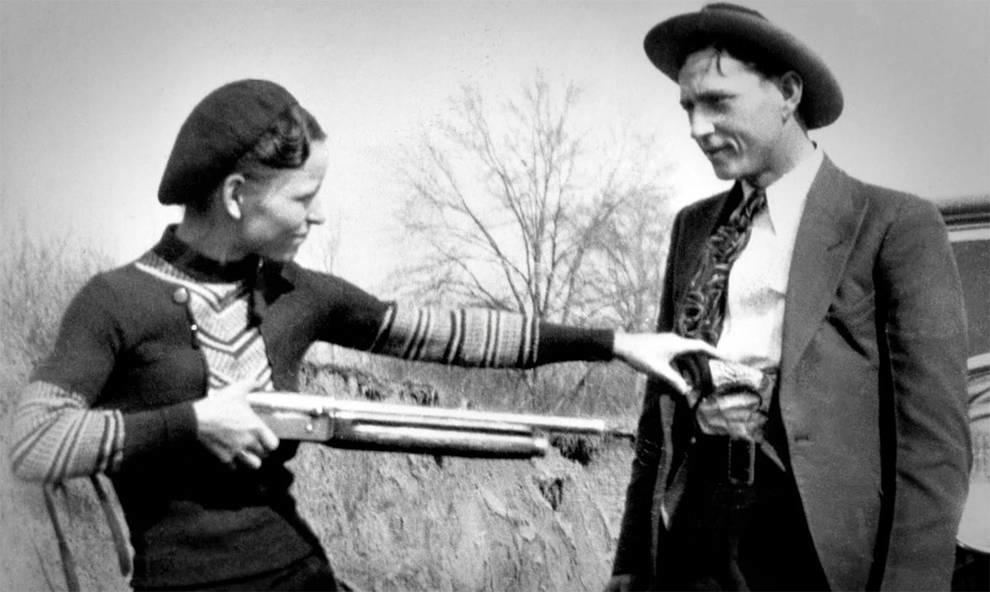 Бонни и Клайд: самая известная преступная парочка