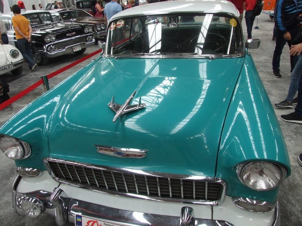 В Харькове показали Chevrolet Bel Air 1955 года