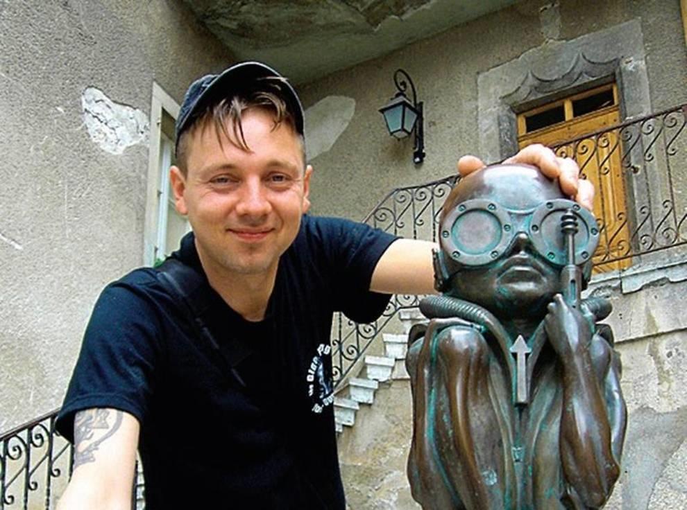 «Холодные» скульптуры американского мастера