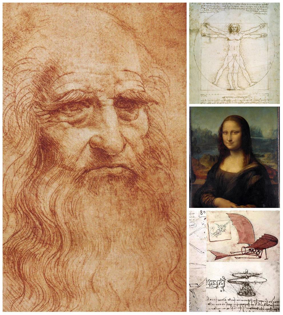 Пулемет или вертолет: ученые подготовили тест о работах Леонардо да Винчи