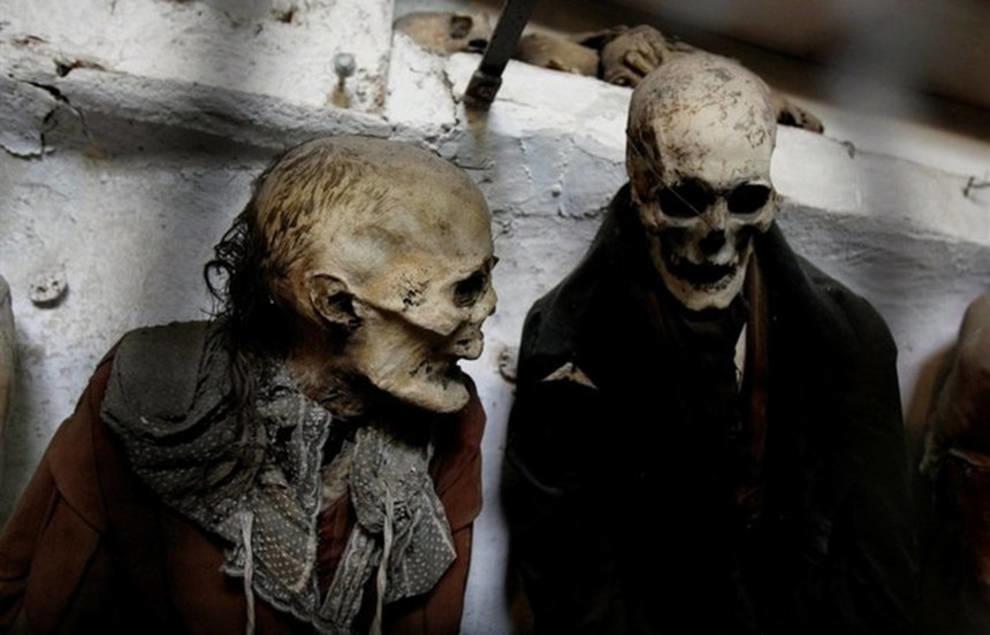 Катакомбы капуцинов: секреты мумий из Палермо