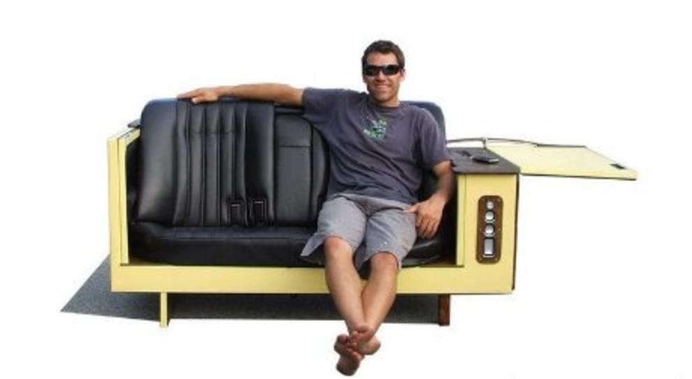 Необычная мебель из старых автомобильных кресел