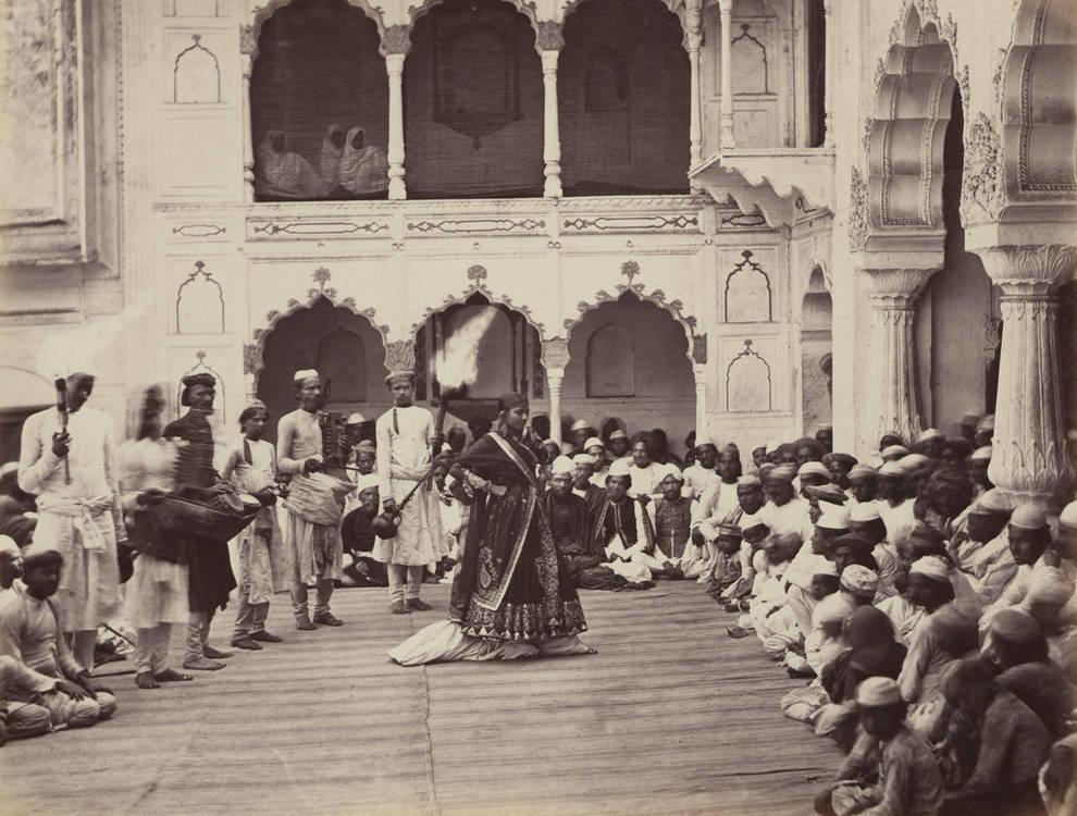 Фотопутешествие по Индии XIX века