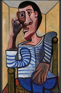 """""""Sailor"""" Pablo Picasso was withdrawn from the auction and sent to the restoration"""
