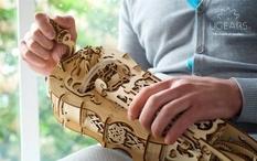 """In """"Disneyland"""" will sell Ukrainian wooden designer"""