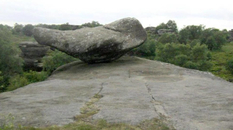 In Yorkshire, teenagers destroyed one of the Brimham Stones