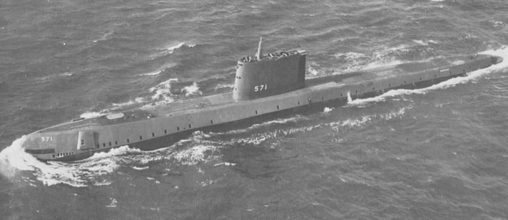 На первой атомной подводной лодке расписался президент