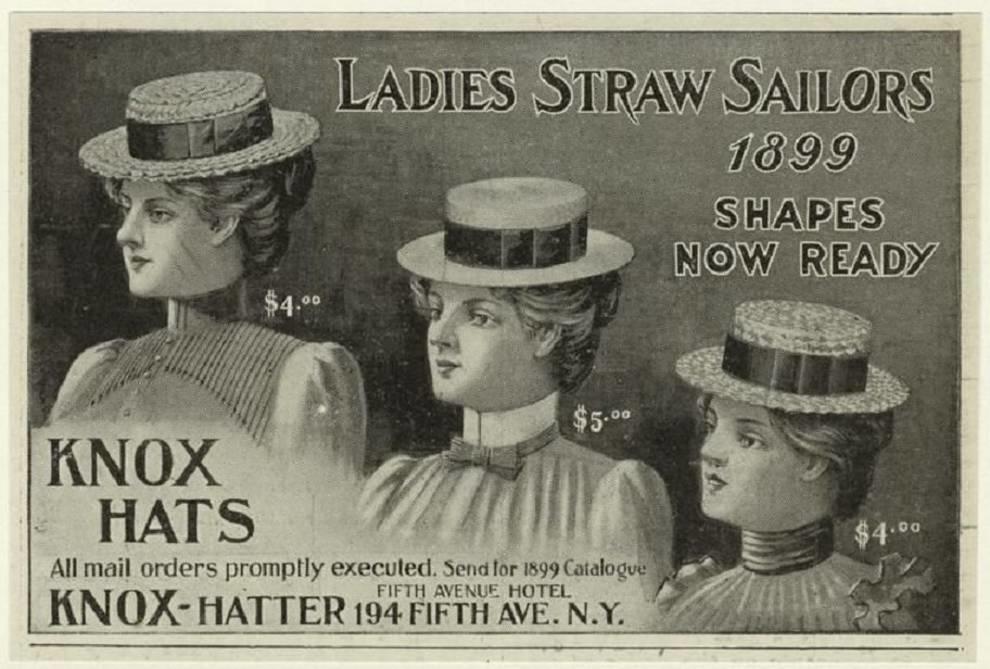 С бантами и перьями: какие шляпки носили женщины 100 лет назад