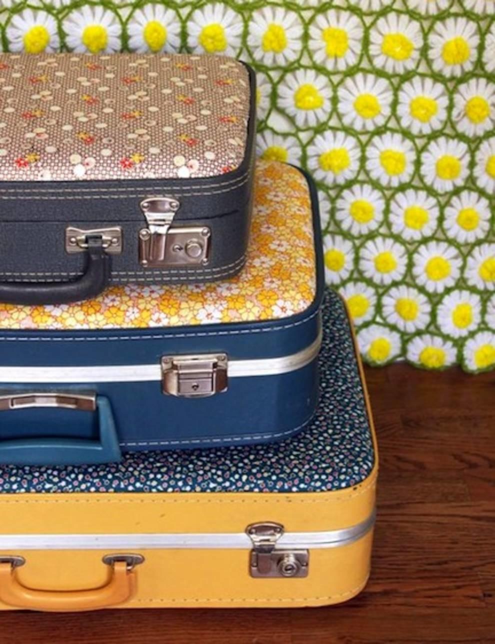 Что можно создать из старых чемоданов?