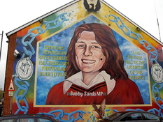 What ended the hunger strike of IRA members?