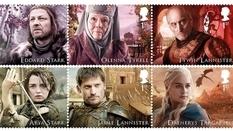 """Коллекция почтовых марок, которая будет интересна поклонникам сериала """"Игры престолов"""""""