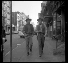 Дух старого Нью-Йорка в фотографиях из частной коллекции Рея Симона