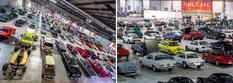 Эта законсервированная когда-то коллекция автомобилей была продана за рекордную сумму